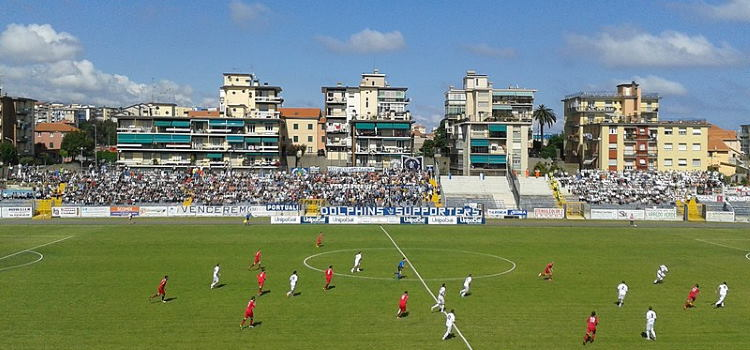 Lo stadio Bacigalupo del Savona FBC