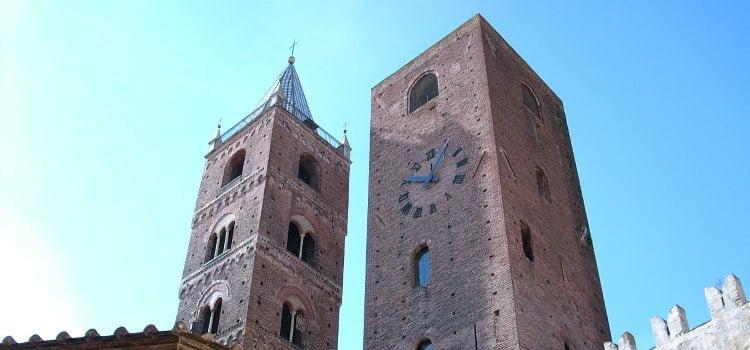 Il centro storico di Albenga