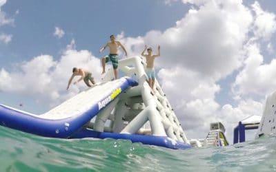 Wow Acquapark Laigueglia: un parco acquatico interamente galleggiante