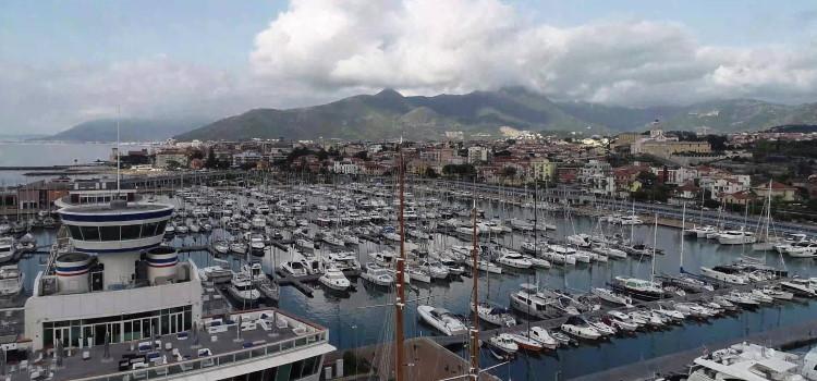 Panorama del porto di Loano