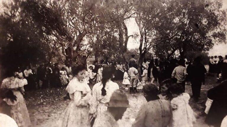 Processione di San Cosima e Damiano del 1904