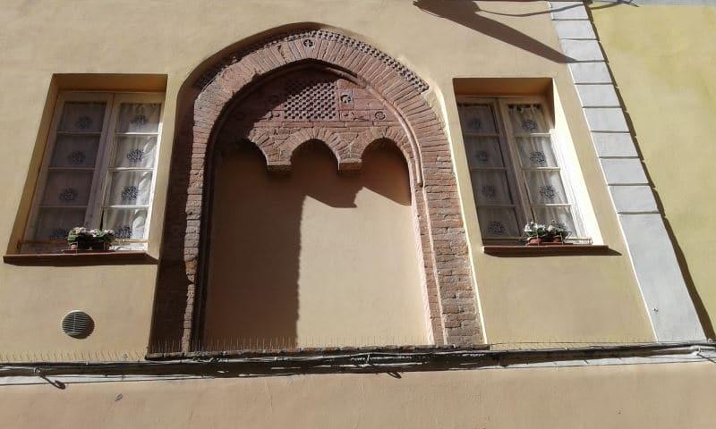 Trifora centro storico Borghetto