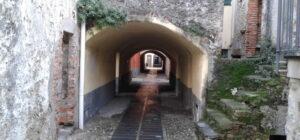 via del centro storico di Borghetto Santo Spirito