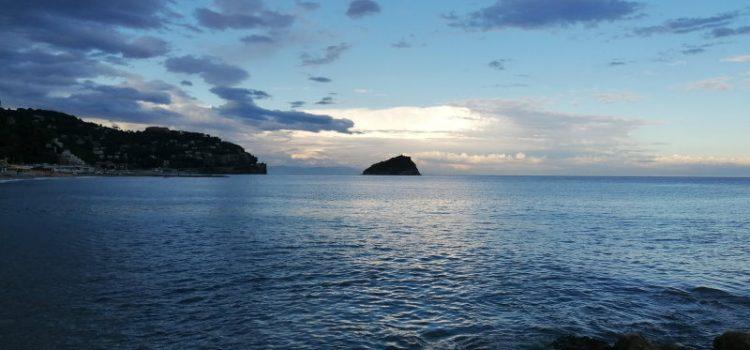 Panorama isola di Bergeggi