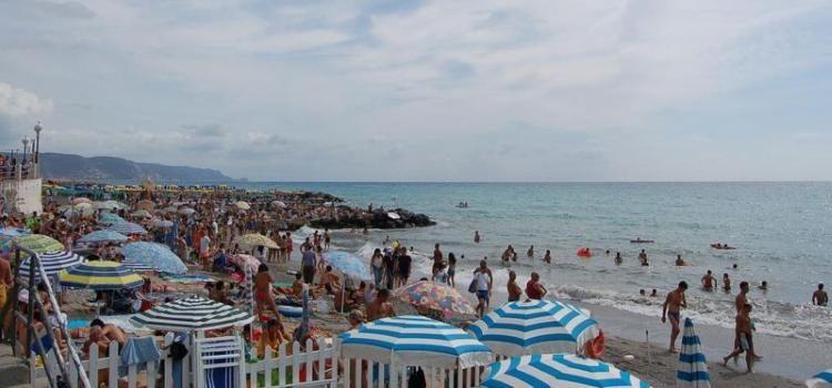 La spiaggia di Loano