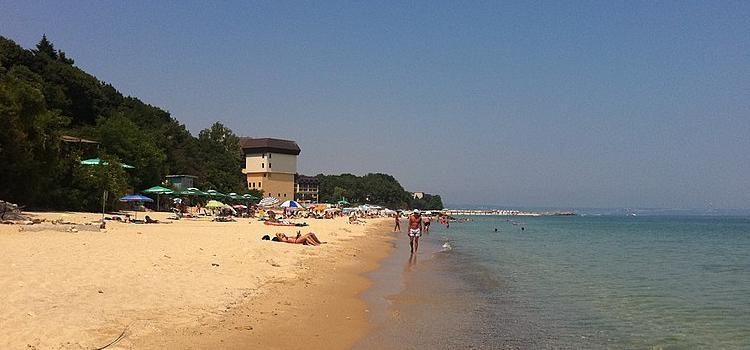 Spiaggia di Varna sul Mar Nero